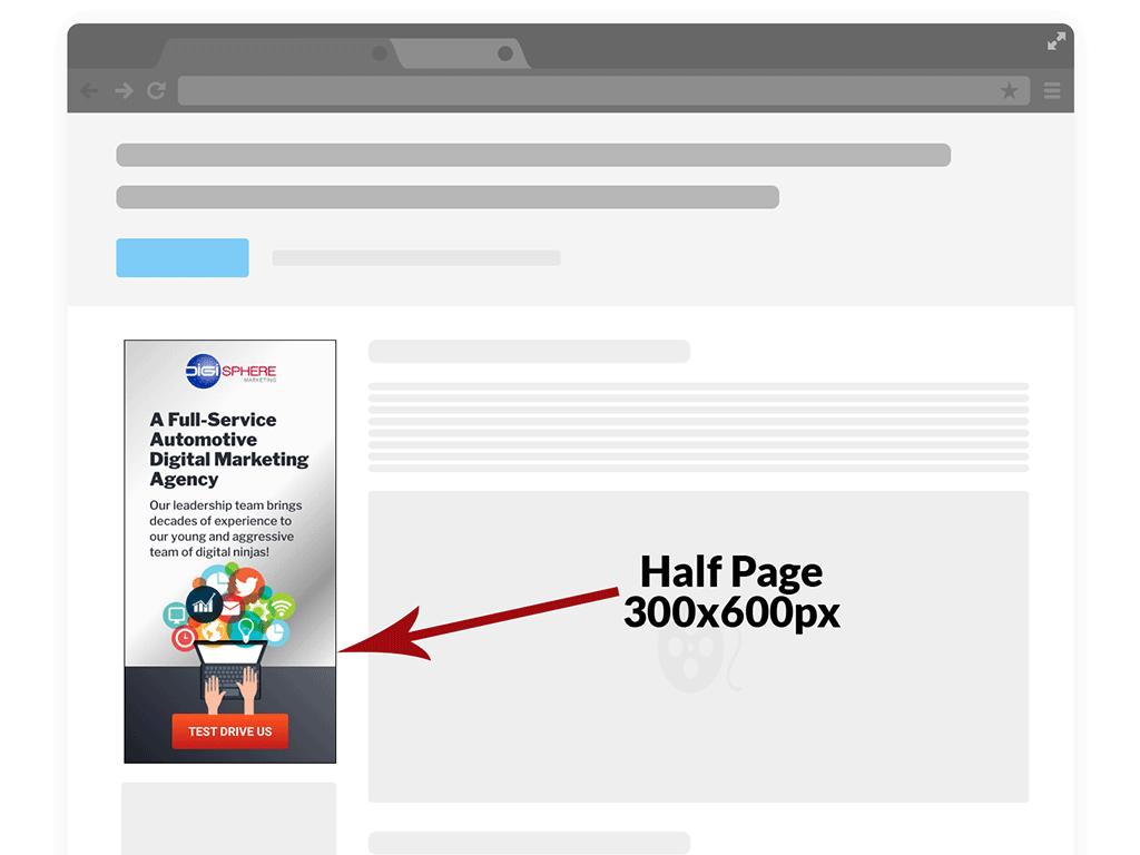 Half Page - 300x600px