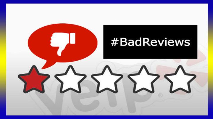 Bad Reviews Killing You?