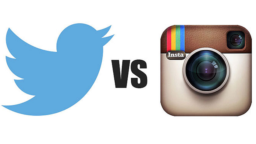 Twitter v. Instagram