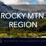 Rocky Mountain Region's National Dealership Standing for September 2018