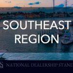 Southeast Region's National Dealership Standing for September 2018