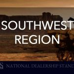 Southwest Region's National Dealership Standing for September 2018