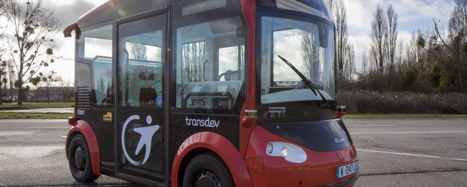 TransDev Autonomous Shuttle