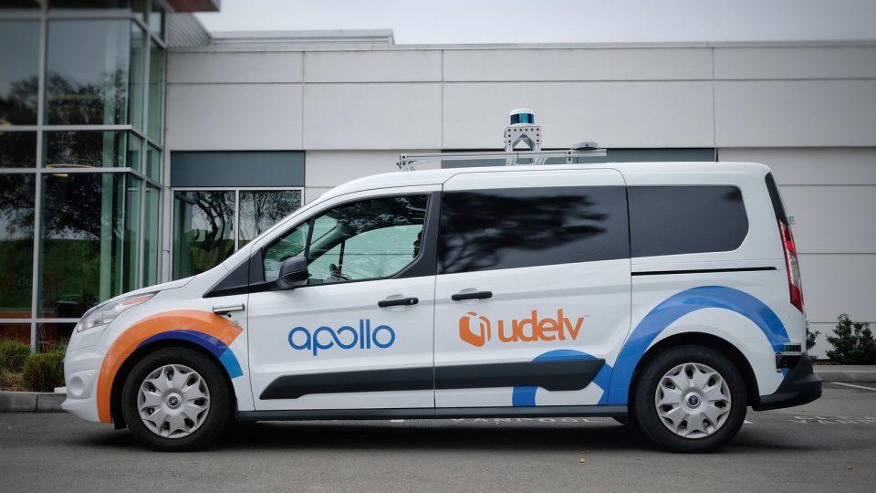 Udelv Autonomous Delivery Vehicle