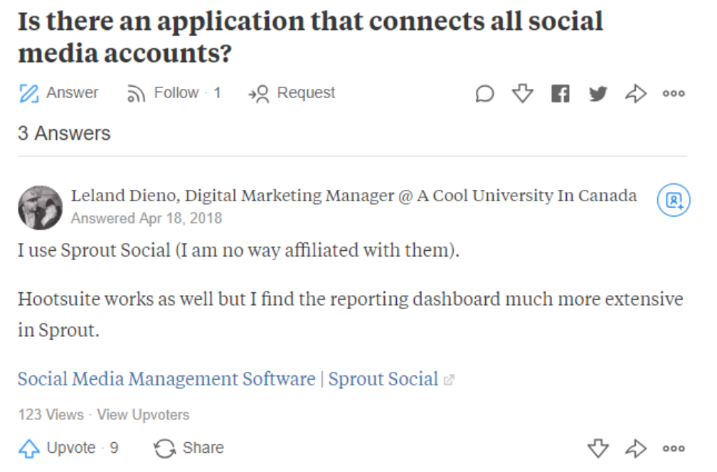 Application that Connects