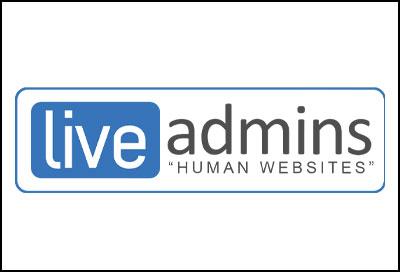 LiveAdmins Logo