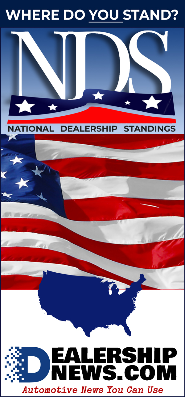 National Dealership Standings - Where Do You Stand?
