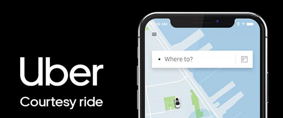 Uber Courtesy Rides