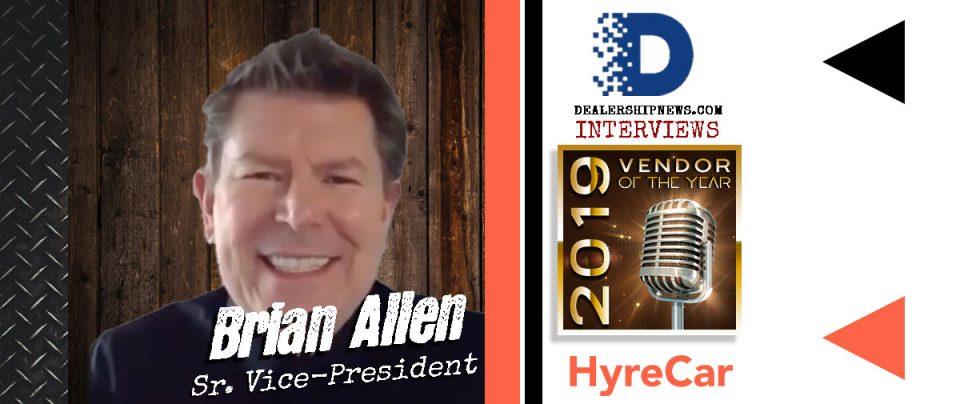 Brian Allen - VOTY 2019