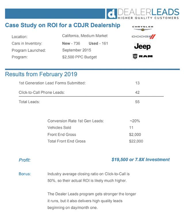 CDJR Case Study